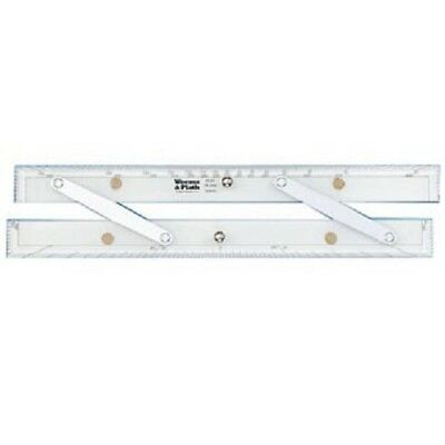 "Weems & Plath 15"" Parallel Rule with Protractor scale - Marine Chart Navigation"
