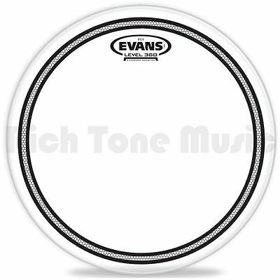 Evans 10 Inch EC2 Tom Head - Clear