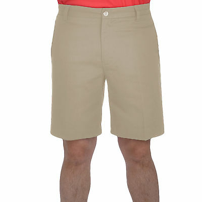 adidas Golf Mens Tech Flat Front Shorts - Khaki - W30