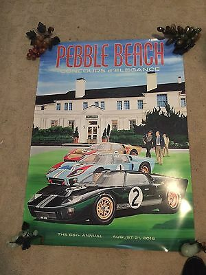 2016 66th Annual Pebble Beach Concours d' Elegance Poster