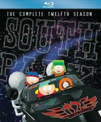 South Park: The Complete Twelfth Season [3 Discs] (2009, REGION A Blu-ray New)