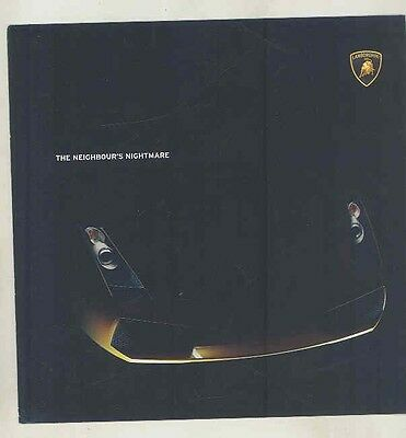 2006 ? Lamborghini Gallardo US Brochure ww1745
