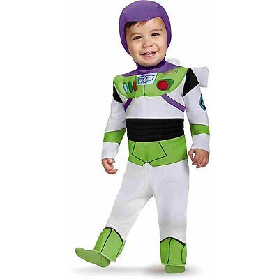 Toy Story's Buzz Lightyear Deluxe Baby Boy Infant Costume | Disguise 85605