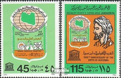 Libya 849-850 unmounted mint / never hinged 1980 Schools
