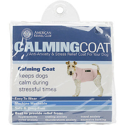 """""""Calming Coat Extra Small 13""""""""-18"""""""" Chest-Pink"""""""