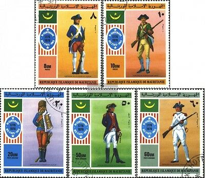 Mauritania 528-532 (complete.issue) used 1976 Independence the