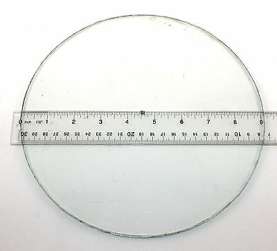 Antique / Vintage  9-1/4 Inches Flat - Thick - Used - Compass Glass!!   Wp22