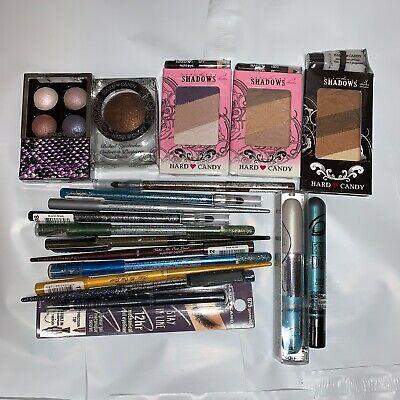 LOT 60 Hard Candy MIX Makeup DUPLICATES Wholesale NEW GREAT CONDITION Lip Eye