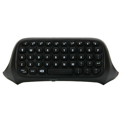 Black 2.4G Mini Wireless Message Keyboard Chatpad for Xbox One Game Console HK