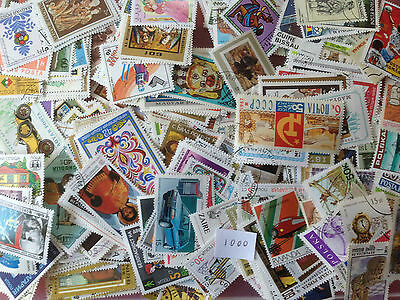 1000 Different World large pictorials Stamp Collection