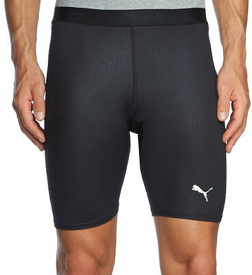 Puma PB Core Mens Short Running Tights - Black