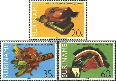 Suriname 877-879 (complete issue) unmounted mint / never hinged 1979 Crafts
