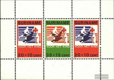 Suriname block23 (complete issue) unmounted mint / never hinged 1979 Youth