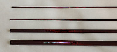 IM6, 3 PC, 5 WT, 9 FT FLY ROD BLANK, Reddish Brown, 2 Tips, by Roger