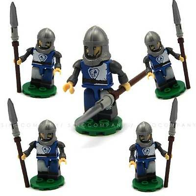 5 toy Dungeons & Dragons soldiers D&D Kreon Kre-O Collection mini figures FW180