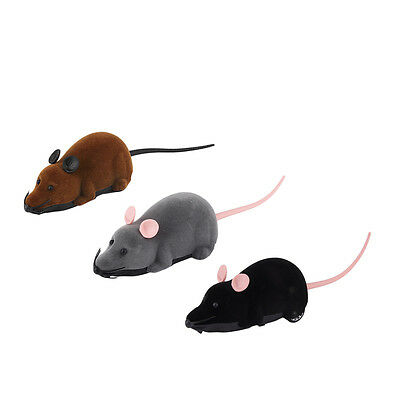 Scary Remote Control Simulation Plush Mouse Mice Kids Toys Gift for Cat Dog DS