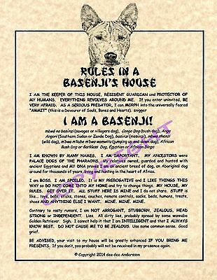 Rules In A Basenji's House