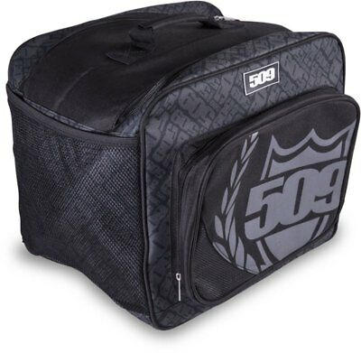 509 Helmet Bag Carrier w/ Goggle / Accessory Storage Pouch & Mesh Vents - Black