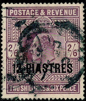Sg11b, 12pi on 2s 6d lilac, good used. Cat £38.