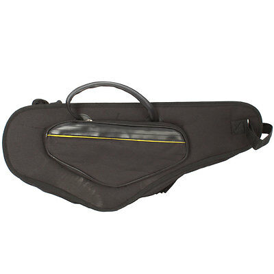 Protable Durable Foam Padded Alto Nylon Sax Saxophone Soft Bag Case with Gift