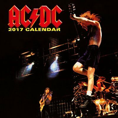 Calendar - AC/DC 2017 Official Wall Calendar - Officially Licensed