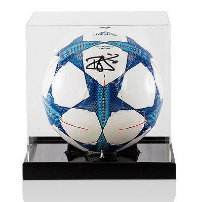 Dele Alli Signed UEFA Champions League Football - In Acrylic Display Case