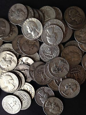 GREAT 1/2  LB 8 OZ Mixed U.S. Silver Coins ALL 90% Junk Silver Coins Pre 65 ONE1