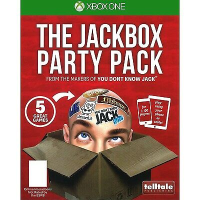 * XBOX ONE NEW SEALED Game * THE JACKBOX PARTY PACK