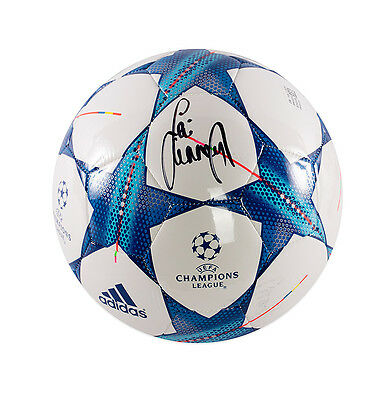 Jamie Carragher Signed Football - UEFA Champions League Autograph