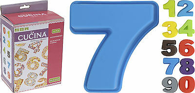 Set of 10 0-9 Numbers Silicone Cake Moulds Silicone Cake Tins Non Stick Baking