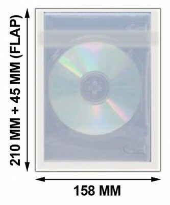 10000 OPP Plastic Wrap Bag for DVD Case 22mm