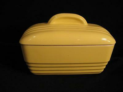 Hall For Westinghouse Bright Yellow Covered Refrigerator Dish