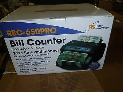 NEW ROYAL SOVEREIGN BUSINESS CURRENCY CASH COUNTER SORTING MACHINE (skid45)