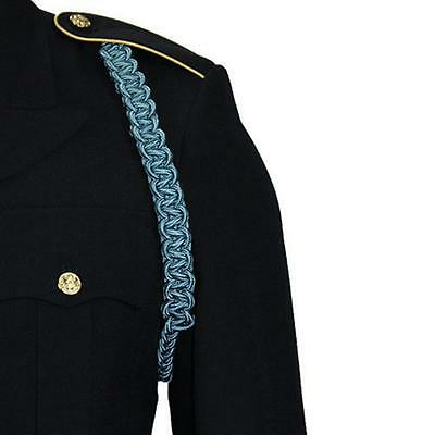 USA Army Shoulder Cord 2723 Interwoven One Color Infantry Blue  NEW