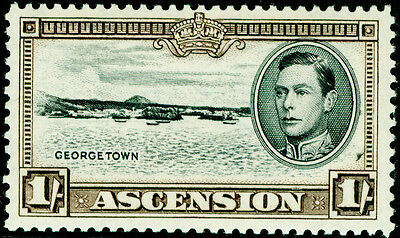Sg44a, 1s black and sepia, LH MINT.