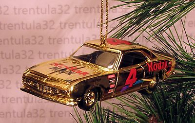 #4 Kodak Max Film '68 Chevy Camaro 1968 Chevrolet Gold Christmas Ornament Xmas