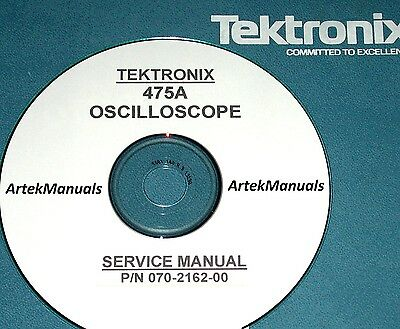 TEKTRONIX Operating & Service Manual for 475A Oscilloscope