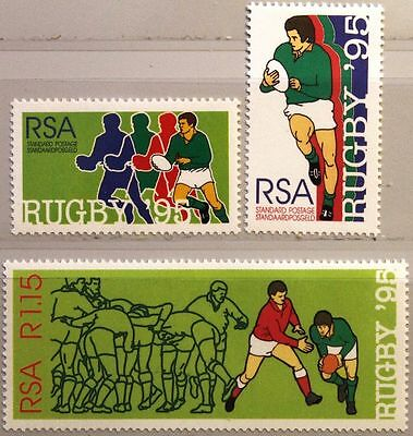 RSA SÜDAFRIKA SOUTH AFRICA 1995 956-58 A Rugby WM World Cup Sport MNH