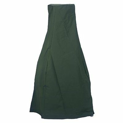 La Hacienda 60532 Small Deluxe Chimenea Rain Cover - Green