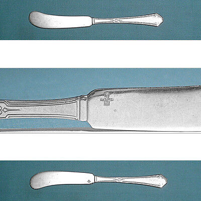 ~ SILVER FLUTES ~ NO MONO TOWLE STERLING FLAT HANDLE BUTTER SPREADER S