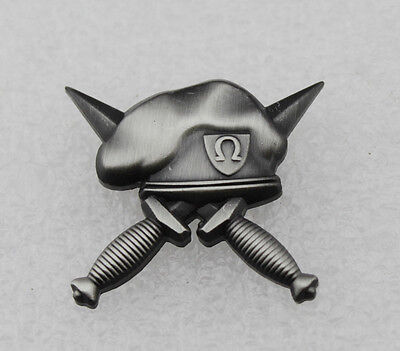 US ARMY SPECIAL FORCES MILITARY PIN Beret Badge-Ancient silver