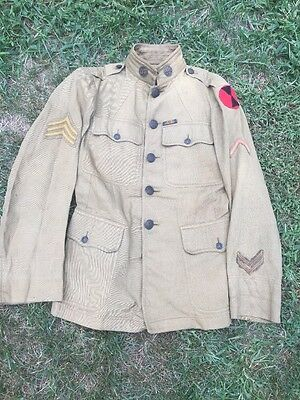 WW1 7th Infantry Division Uniform Summer Weight
