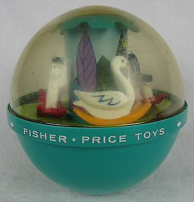 1966 Fisher-Price Roly Poly Chime Ball #165