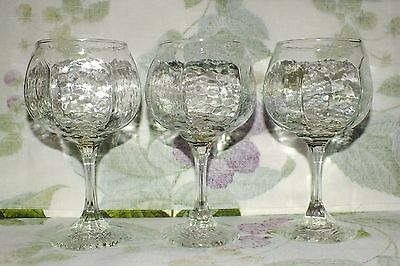 Libbey Chivalry Clear All Purpose Goblets 3  Exc