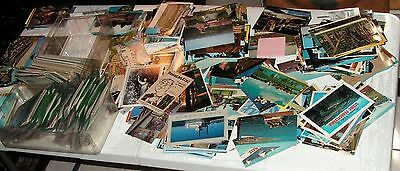 Lot of 25 Vintage Postcards Some w- postmarked vintage stamps most uncirculated