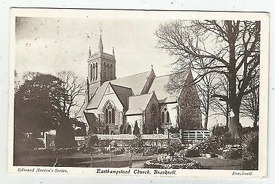 england berkshire postcard english easthampstead church bracknell