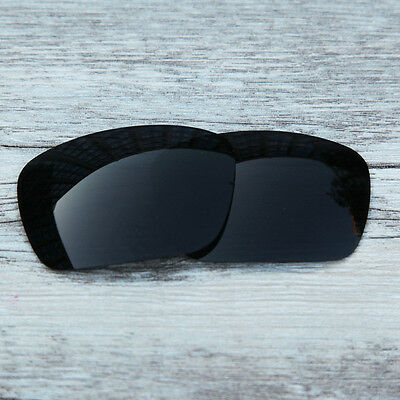 Inew Black  Polarized Replacement lenses for-Oakley fuel cell