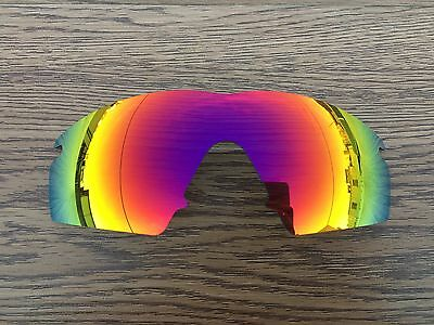 New Fire Ruby Red Polarized Replacement lenses for-Oakley M frame Strike