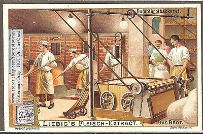 Turn-Of-The-Century Bread Baking Ovens c1902 Trade Advertising Card