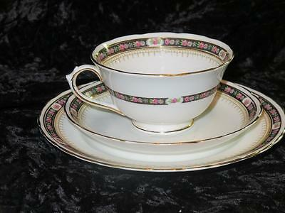 Vintage Tuscan China Trio 1930s R.H. & S.L.Plant for SELFRIDGES 7085